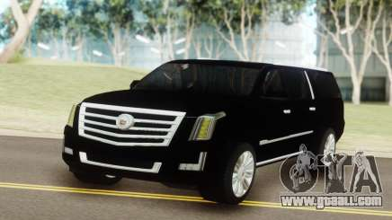 Cadillac Escalade Black for GTA San Andreas