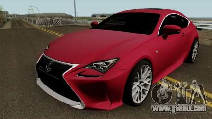 Lexus RC350 Coupe 2015 for GTA San Andreas
