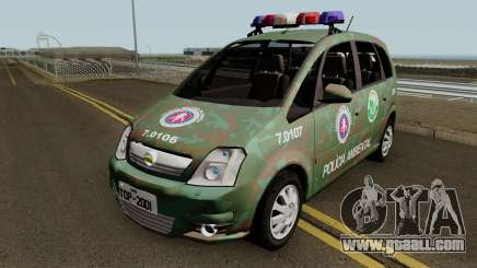 Chevrolet Meriva 2010 COPPA PMBA for GTA San Andreas