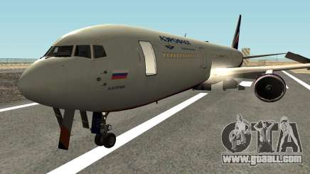 Boeing 767-300 Aeroflot Livery for GTA San Andreas