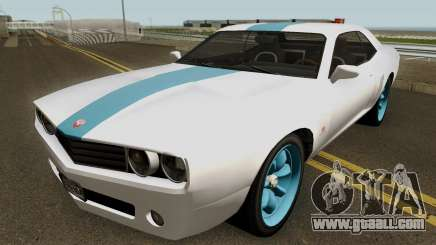 Dodge Challenger SRT Normal (Gauntlet) 2012 for GTA San Andreas
