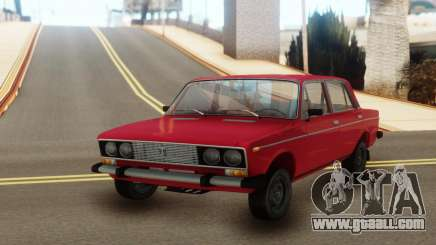 VAZ 2106 classic Red for GTA San Andreas