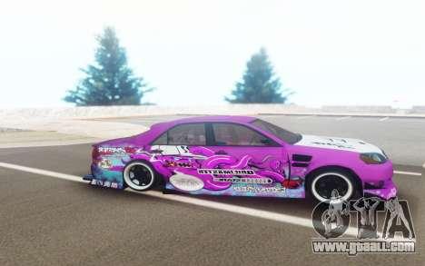 Toyota Mark 2 JZX110 Octo DriftMaster for GTA San Andreas