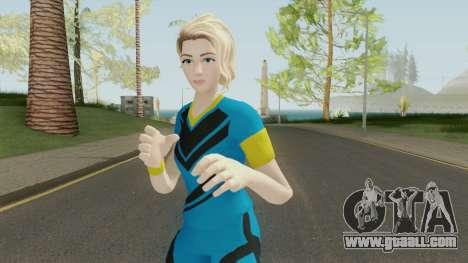 Emmy (Fortnite Soccer) for GTA San Andreas