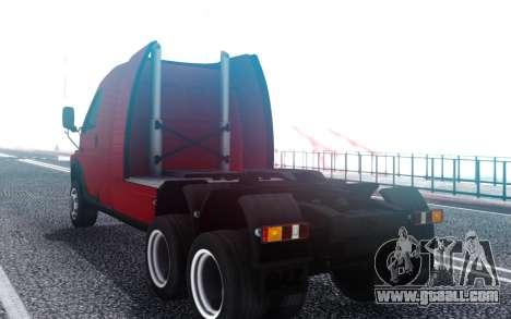 GAZ Ermak for GTA San Andreas