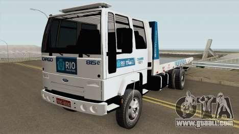 Ford Cargo Reboque Prefeitura Rio de Janeiro for GTA San Andreas