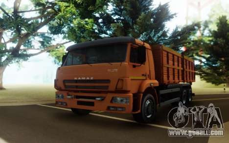 KAMAZ 45143 for GTA San Andreas