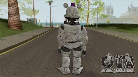 FNaF Fred Bear Grey v7 for GTA San Andreas