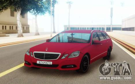 Mercedes-Benz E-Class Universal for GTA San Andreas