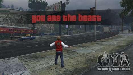 GTA 5 The Beast Mod 1.2