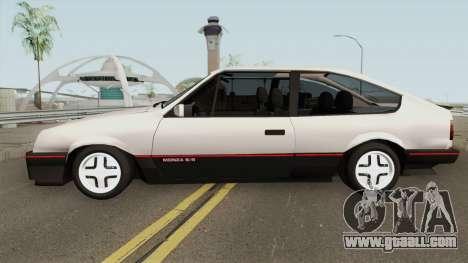 Chevrolet Monza SR Hacth Doors for GTA San Andreas