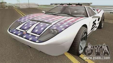 Vapid Bullet GT GTA V for GTA San Andreas