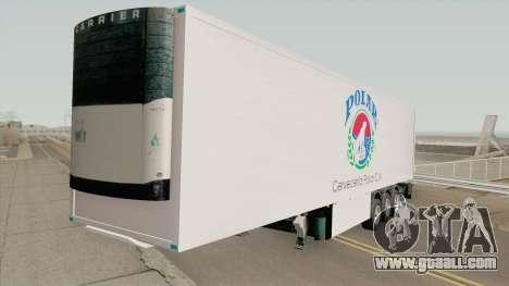 Remolque Cerveceria Polar for GTA San Andreas