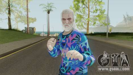 The Thug Witcher for GTA San Andreas