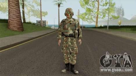 SKIN Fuzileiro Naval Marinha do Brasil for GTA San Andreas