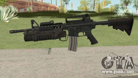 M4 With M203 for GTA San Andreas