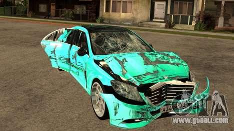 Mersedes-Benz s63 w222 Bulkin Amoral v 1.2 for GTA San Andreas