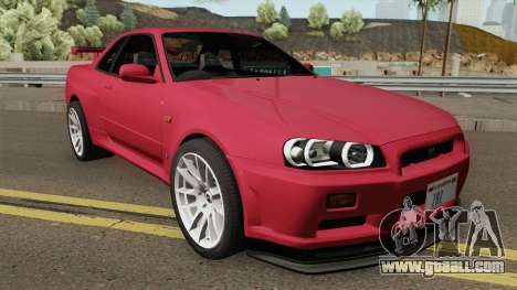 Nissan Skyline GT-R R34 1999 for GTA San Andreas