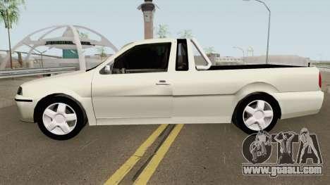 Volkswagen Saveiro G3 Tunable for GTA San Andreas