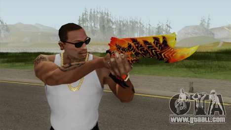 Rules of Survival Deagle Magma Demon for GTA San Andreas