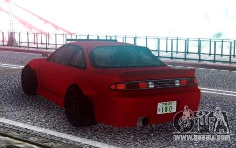 Nissan 200SX S14 Rocket Bunny Custom for GTA San Andreas