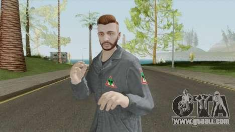 GTA Online Skin Alienbuster Male for GTA San Andreas
