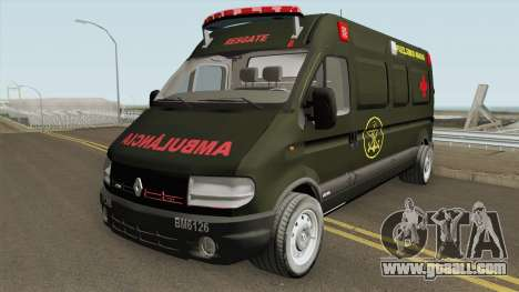 Renault Master Ambulance Dos Fuzileiros Navais for GTA San Andreas
