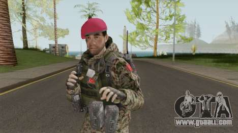 Turkish Army Skin for GTA San Andreas