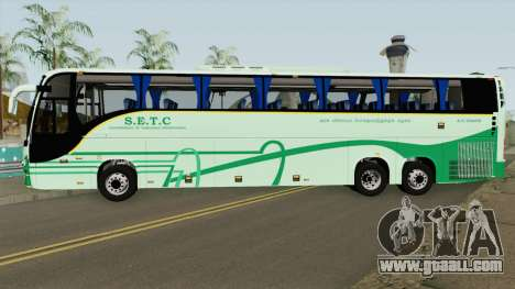 SETC Multi Axle Volvo Ac Coach for GTA San Andreas
