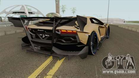 Lamborghini Aventador TZR R-Tech v1 for GTA San Andreas