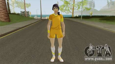 Sara (Fortnite Soccer) for GTA San Andreas