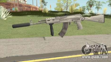 Modern AK47 Silenced for GTA San Andreas
