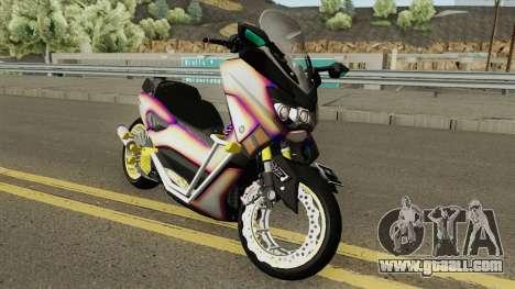 Yamaha NMax Lowrider for GTA San Andreas