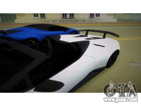 Lamborghini Huracan Performante Spyder for GTA Vice City
