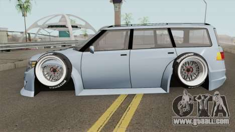 Nissan Patrol WideBody 2016 for GTA San Andreas