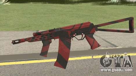 SAIGA-12 RED BLOOD for GTA San Andreas