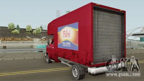 Mule Truck with Company Brands BR TCGTABR for GTA San Andreas