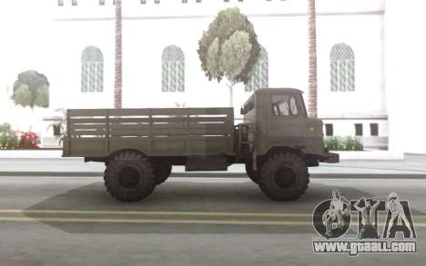 GAZ 66 with a body and Tende for GTA San Andreas