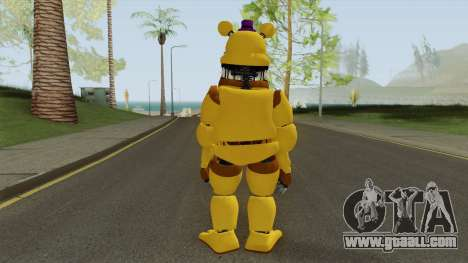 FNaF Fred Bear v7 for GTA San Andreas