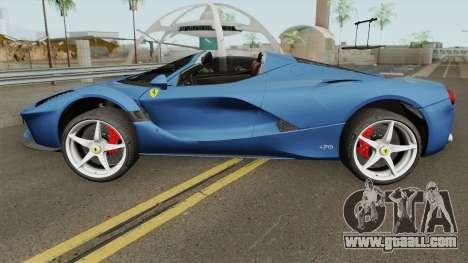 Ferrari LaFerrari Aperta 2017 for GTA San Andreas