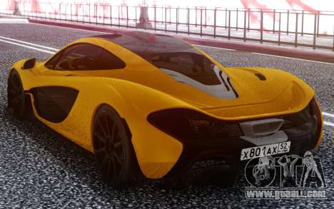 McLaren P1 for GTA San Andreas