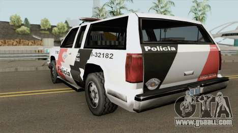 Copcarla Policia SP TCGTABR for GTA San Andreas