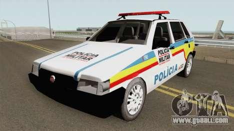 Fiat Uno Mille Multifuncional PMMG for GTA San Andreas