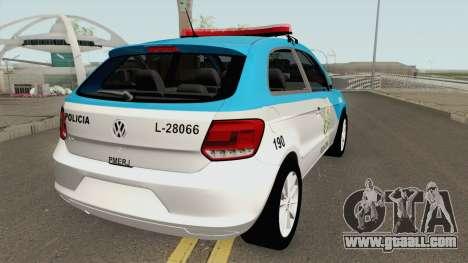 Volkswagen Gol G6 PMERJ for GTA San Andreas