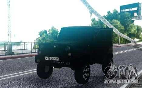 UAZ hunter Sleigh FSB for GTA San Andreas