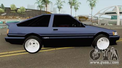 Toyota Levin AE86 Turbo V1 for GTA San Andreas