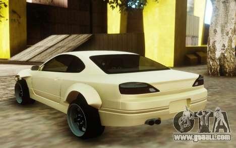 Nissan Silvia S15 Custom Fenders for GTA San Andreas