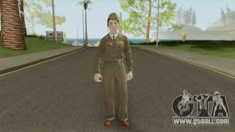 Call of Duty WWII: Corporal Green for GTA San Andreas