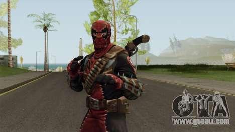 DeadPool Con Normalmap for GTA San Andreas