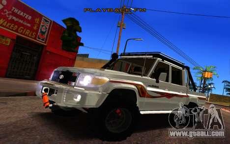 Land Cruiser 79 Pick Up V1.0 for GTA San Andreas